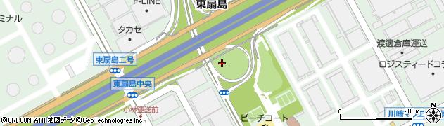 神奈川県川崎市川崎区東扇島周辺の地図