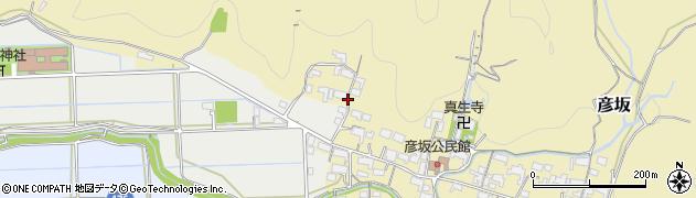 岐阜県岐阜市彦坂周辺の地図