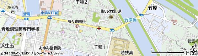 福井県小浜市千種周辺の地図