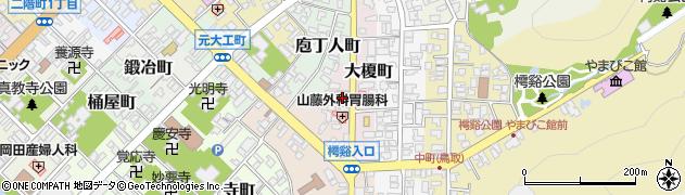 鳥取県鳥取市大榎町周辺の地図