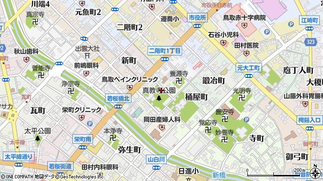 〒680-0055 鳥取県鳥取市戎町の地図