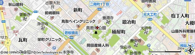 鳥取県鳥取市戎町周辺の地図