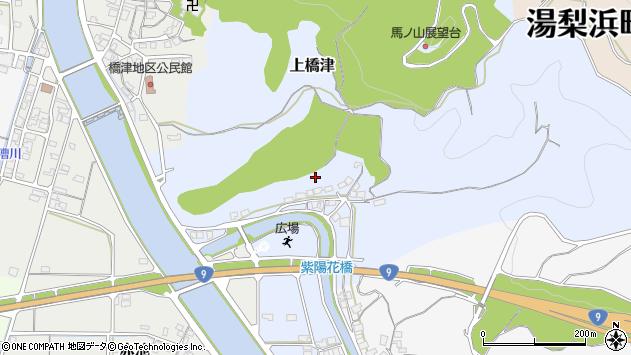 〒682-0703 鳥取県東伯郡湯梨浜町上橋津の地図