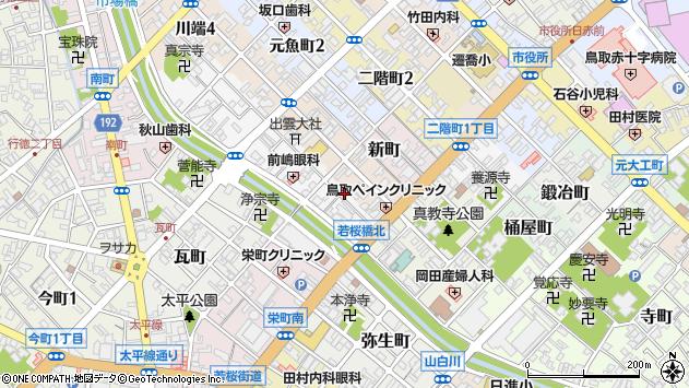 〒680-0037 鳥取県鳥取市元町の地図