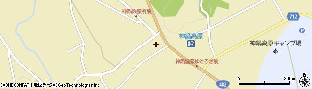 兵庫県豊岡市日高町栗栖野周辺の地図