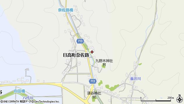 〒669-5335 兵庫県豊岡市日高町奈佐路の地図