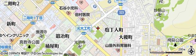 鳥取県鳥取市掛出町周辺の地図