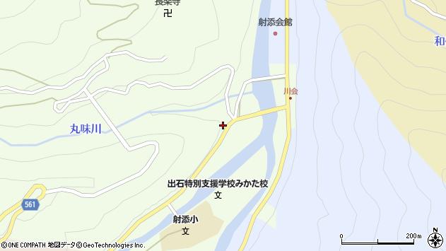 〒667-1366 兵庫県美方郡香美町村岡区川会の地図