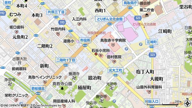 〒680-0047 鳥取県鳥取市上魚町の地図