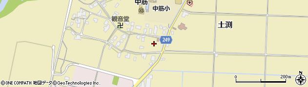 兵庫県豊岡市土渕周辺の地図
