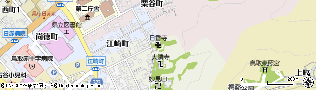 日香寺周辺の地図