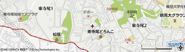 東寺尾ヒルズ84周辺の地図