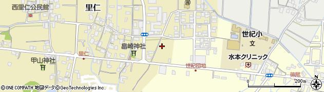 鳥取県鳥取市里仁周辺の地図