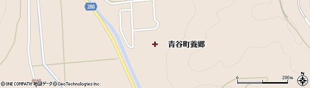 鳥取県鳥取市青谷町養郷周辺の地図