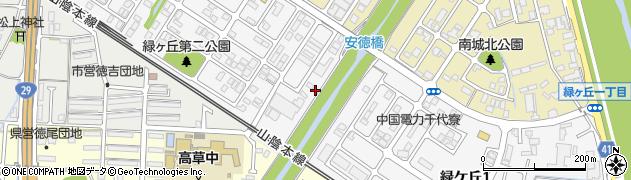 鳥取県鳥取市緑ケ丘周辺の地図