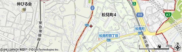 妙蓮寺ハイツ周辺の地図