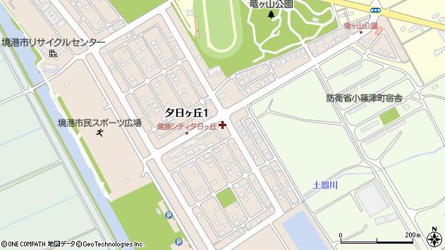 〒684-0076 鳥取県境港市夕日ケ丘の地図