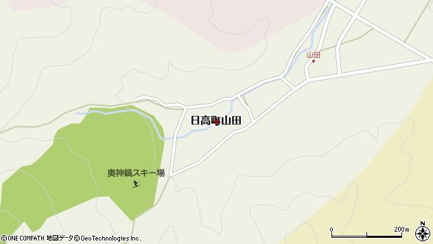 〒669-5377 兵庫県豊岡市日高町山田の地図