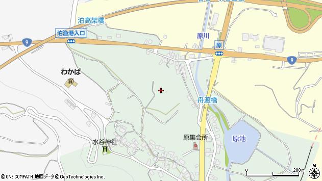 〒689-0606 鳥取県東伯郡湯梨浜町原の地図