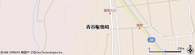 鳥取県鳥取市青谷町奥崎周辺の地図