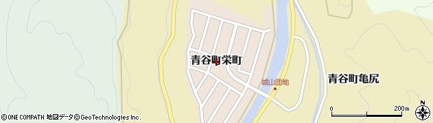 鳥取県鳥取市青谷町栄町周辺の地図