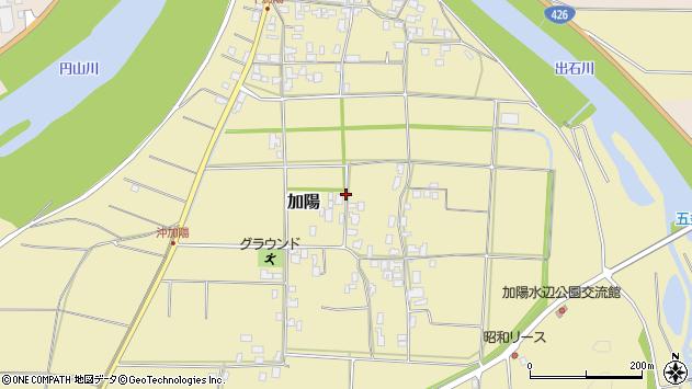 〒668-0841 兵庫県豊岡市加陽の地図