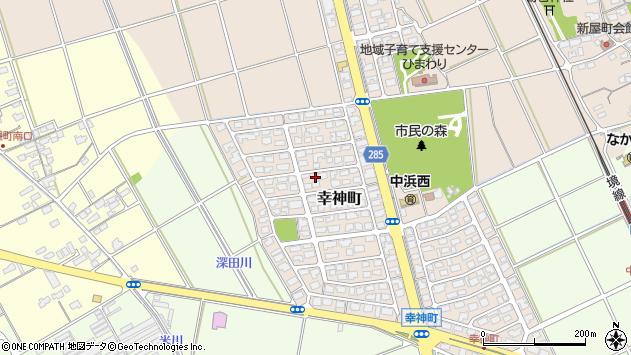 〒684-0056 鳥取県境港市幸神町の地図