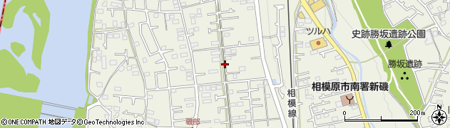 神奈川県相模原市南区磯部周辺の地図