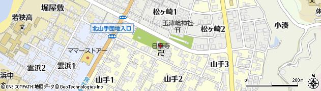 源応寺周辺の地図