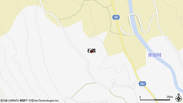 〒669-6953 兵庫県美方郡新温泉町石橋の地図