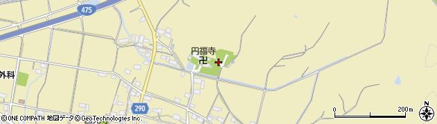 岐阜県関市池尻周辺の地図