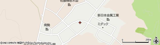 岐阜県関市尾太町周辺の地図