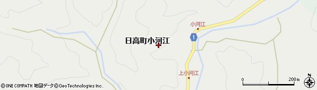 兵庫県豊岡市日高町小河江周辺の地図