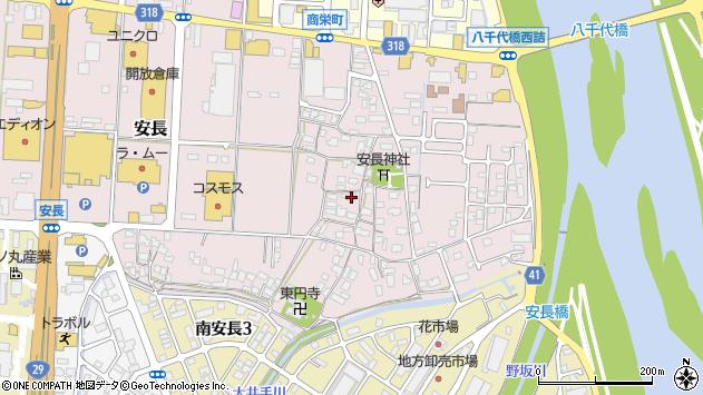 〒680-0913 鳥取県鳥取市安長の地図