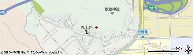 岐阜県岐阜市山県北野周辺の地図