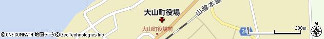 鳥取県西伯郡大山町周辺の地図
