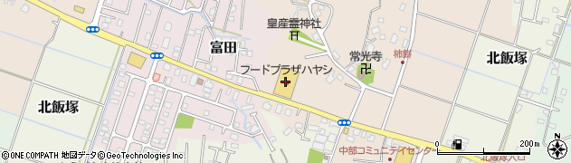 東京スター銀行フードプラザハヤシ大網店 ATM周辺の地図
