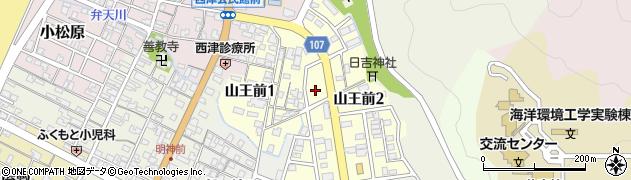 福井県小浜市山王前周辺の地図