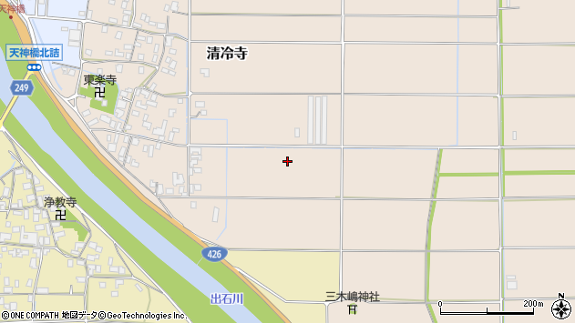 〒668-0853 兵庫県豊岡市清冷寺の地図