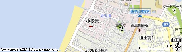 福井県小浜市小松原周辺の地図