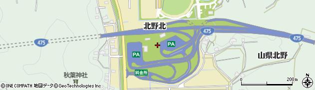 岐阜県岐阜市北野北周辺の地図