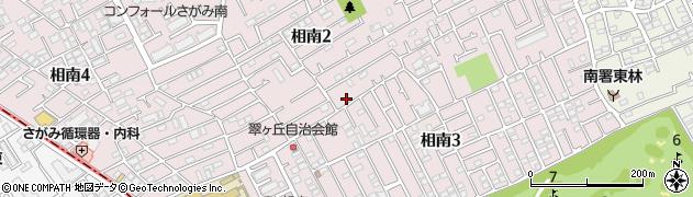 神奈川県相模原市南区相南周辺の地図