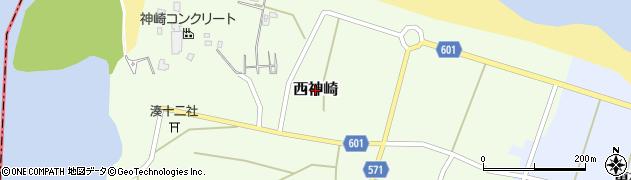 京都府舞鶴市西神崎周辺の地図