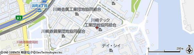神奈川県川崎市川崎区浅野町周辺の地図