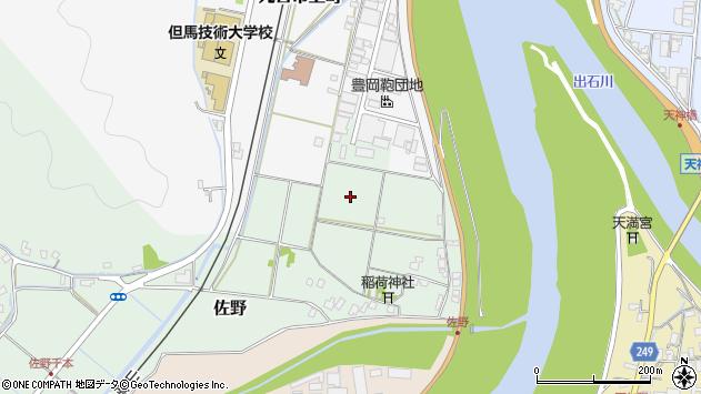 〒668-0062 兵庫県豊岡市佐野の地図