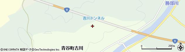 鳥取県鳥取市青谷町吉川周辺の地図