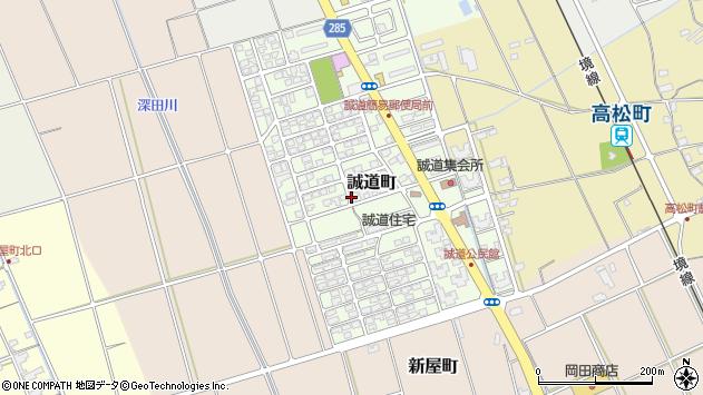 〒684-0063 鳥取県境港市誠道町の地図