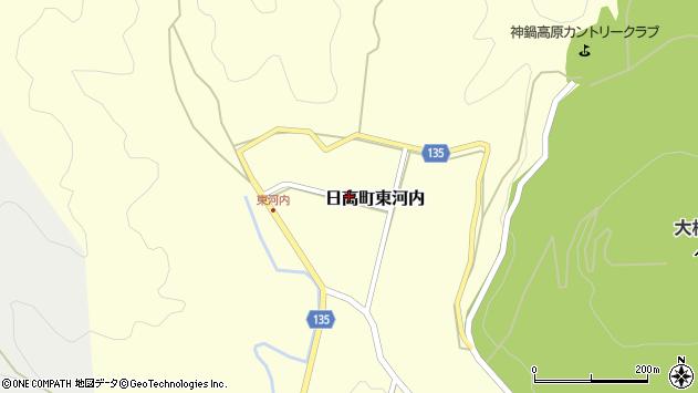 〒669-5373 兵庫県豊岡市日高町東河内の地図