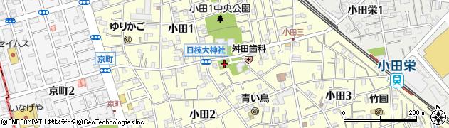 日枝大神社周辺の地図