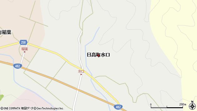 〒669-5374 兵庫県豊岡市日高町水口の地図